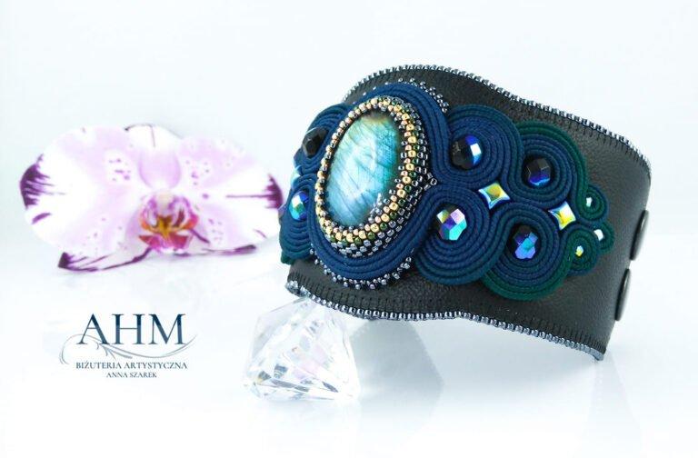 Biżuteria stworzona przez ANNA HAND MADE Biżuteria artystyczna Sutasz