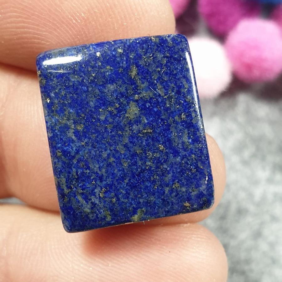 Lapis lazuli, prostokąt, kaboszon - sklep kamolce.pl